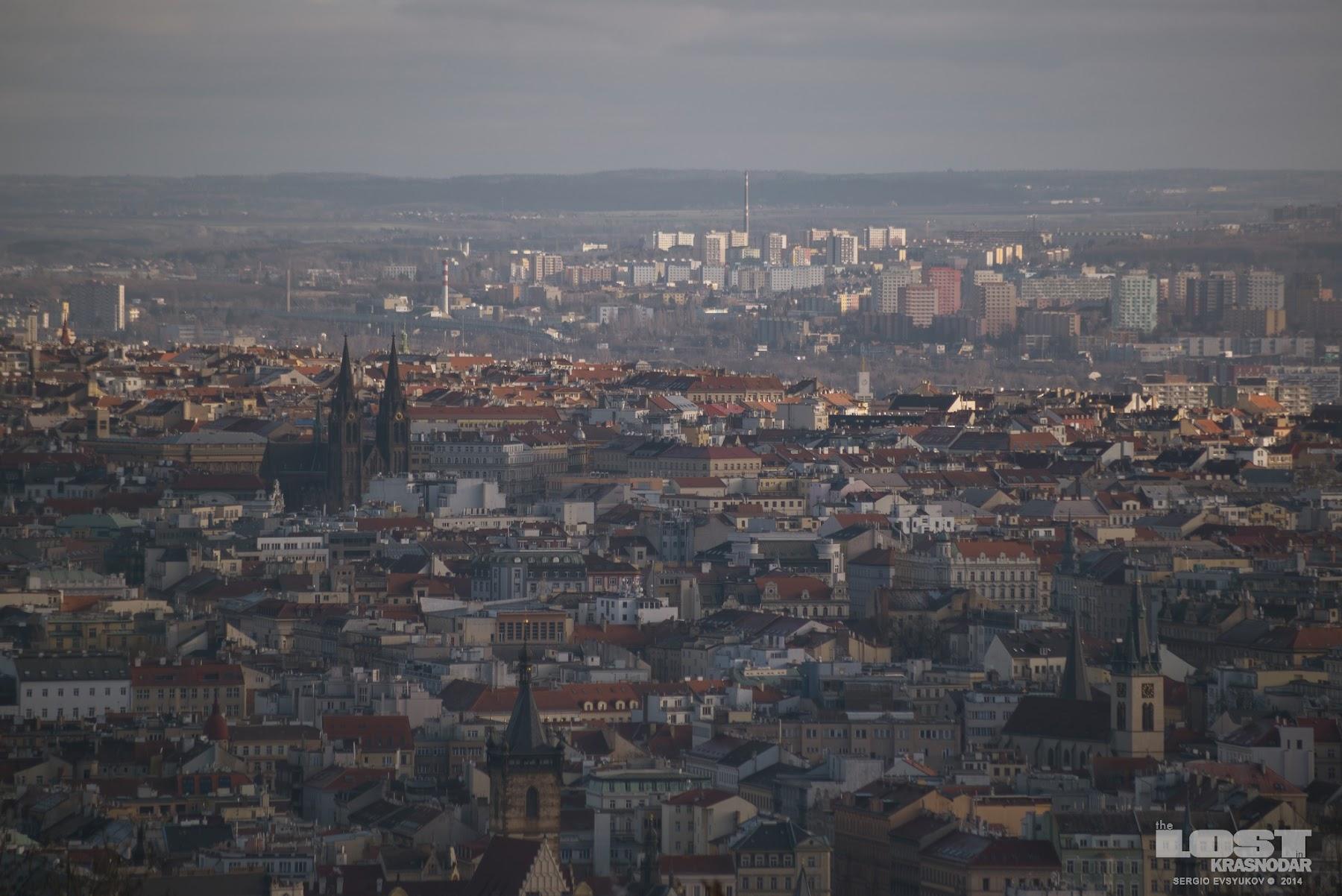Чешская столица на холмах