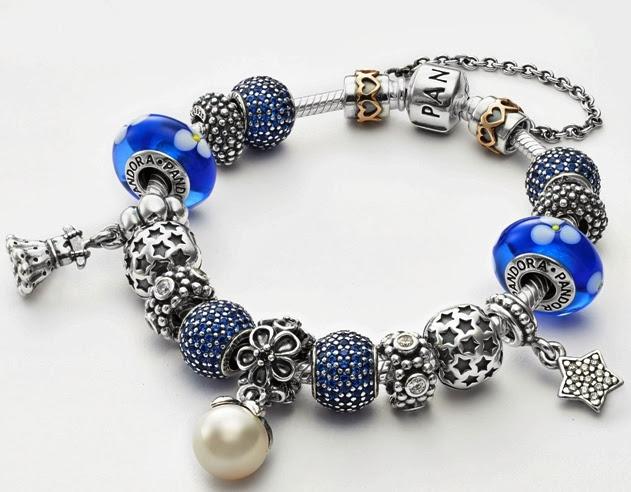 Forgiveness & Cherish, Pandora Charm Bracelet
