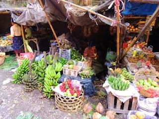 vegetable sellers, Bali