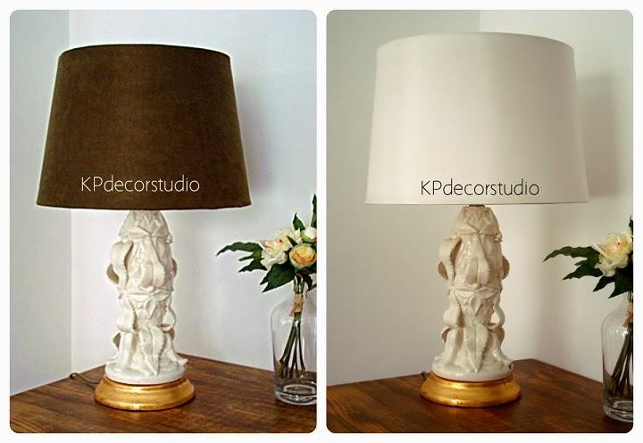 Comprar pareja de lámparas de manises con pie cerámico para decoración vintage