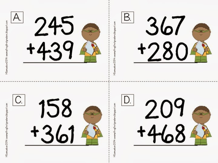 3 digit addition with regrouping free worksheets