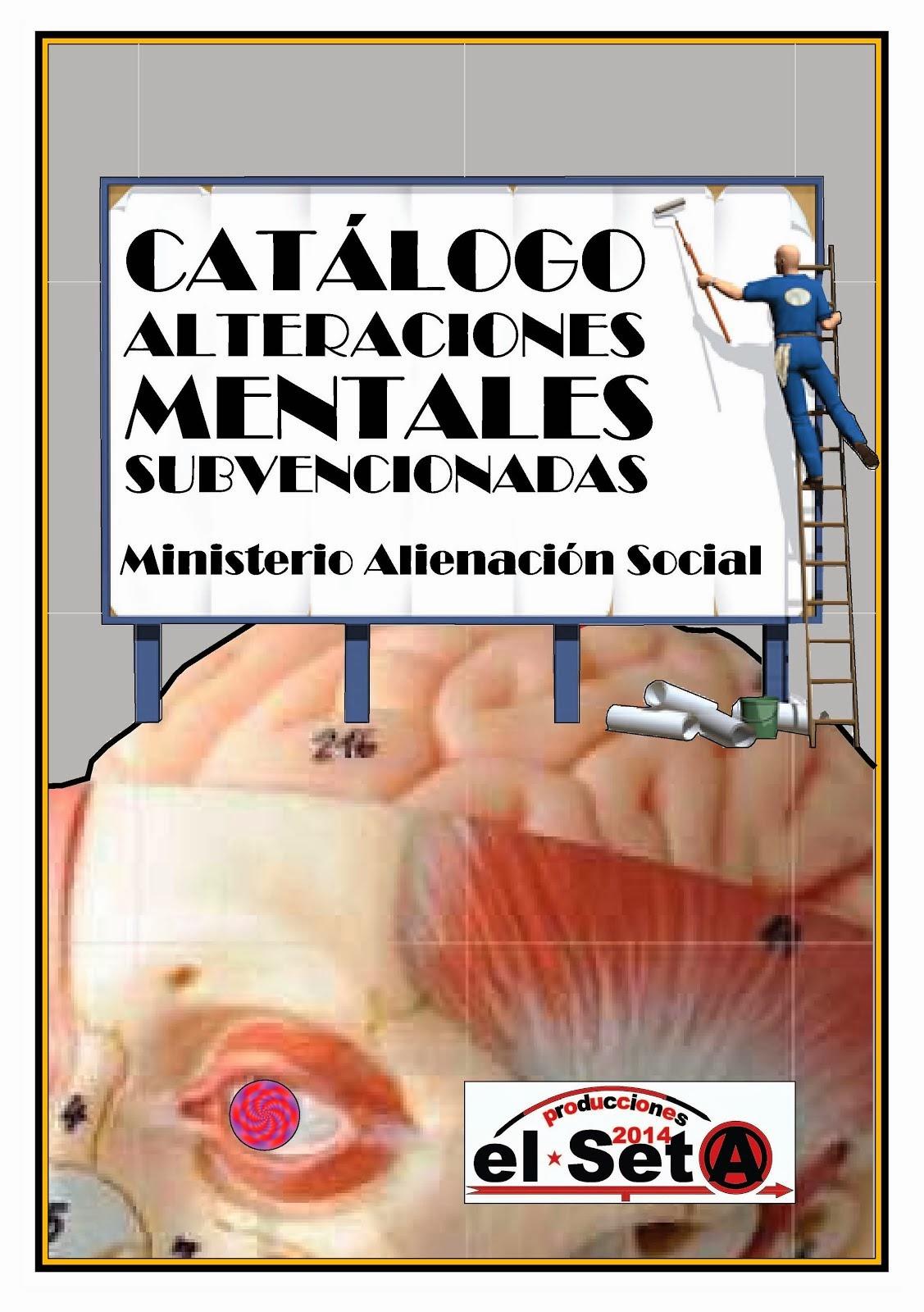 Catálogo Alteraciones Mentales Subvencionadas