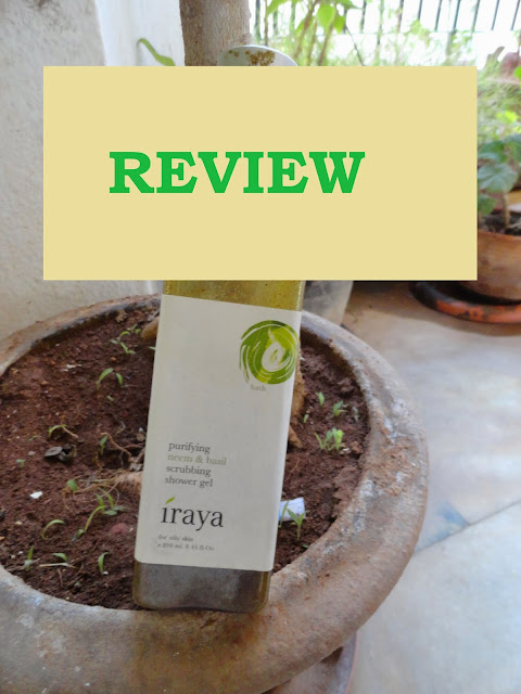 REVIEW: Iraya Purifying Neem and Basil Scrubbing Shower Gel image
