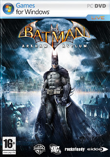 Batman Arkham Asylum PC Game (cover)