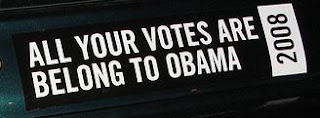 All your votes are belong to Obama