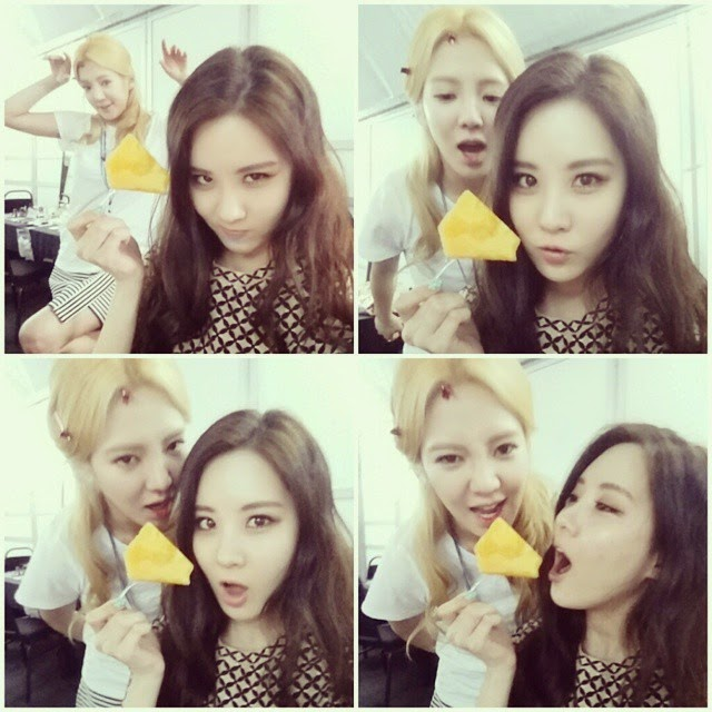 SNSD Seohyun and Hyoyeon Pictures