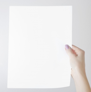 Picture of Blank Paper