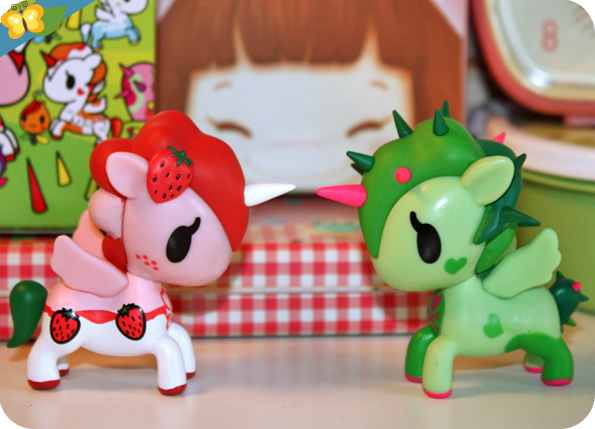 Unicorno series 4 by Tokidoki : Yuma et Ruby