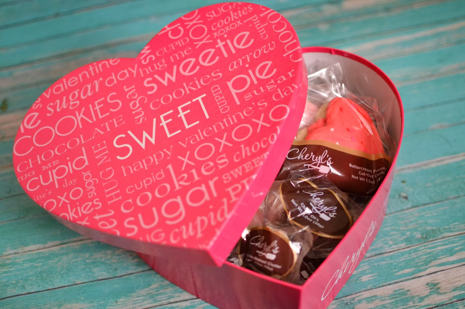 Cheryl's Sweet Treats Heart Box: Valentine Gifts