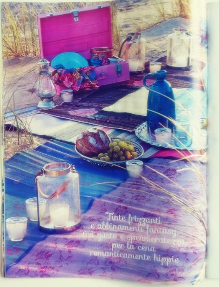 Piknik na kolorowo, barwny piknik