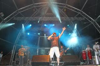 Show de Aloísio Bruno & Banda, também animou o publico tocando grandes sucessos da MPB