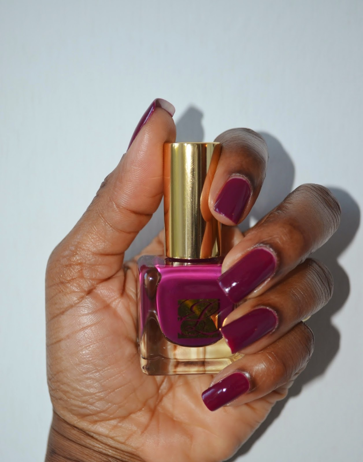 of the comely: Estee Lauder Nail Laquer and Lipstick- Insolent Plum ...