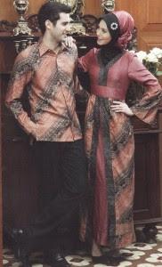 Pakaian Baju Batik Muslim Muslimah