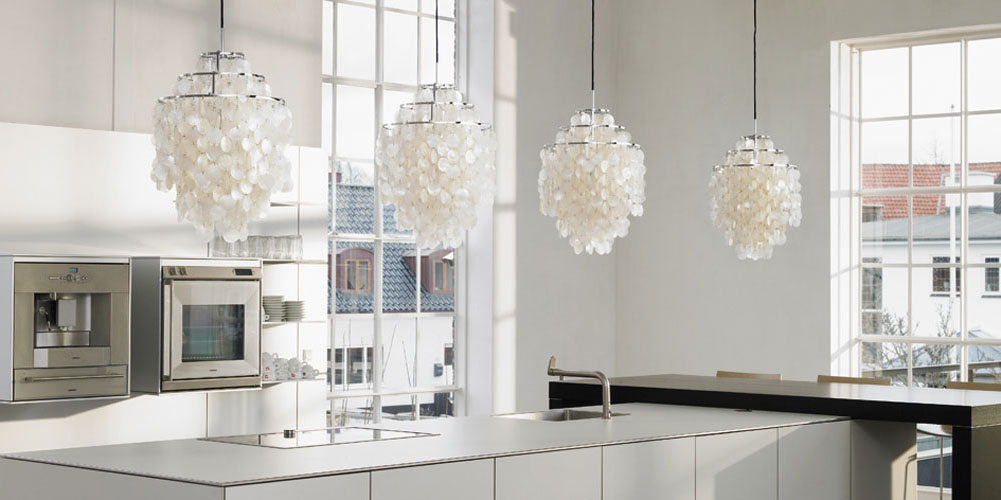 Roost Halo Chandelier My Modern House - Kitchen counter pendant lighting