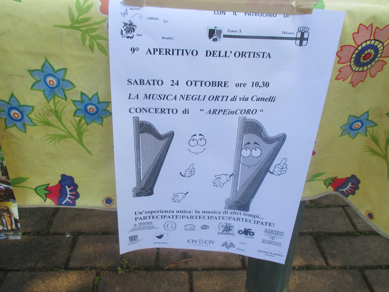 ORTI DI VIA CANELLI-APERITIVO DELL'ORTISTA