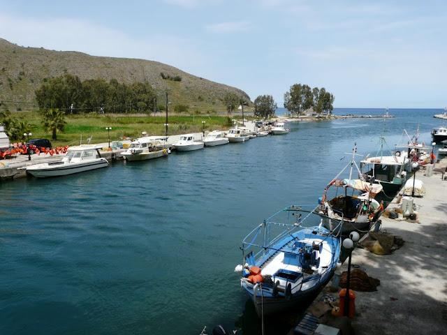 Port rybacki w Georgioupolis - Kreta