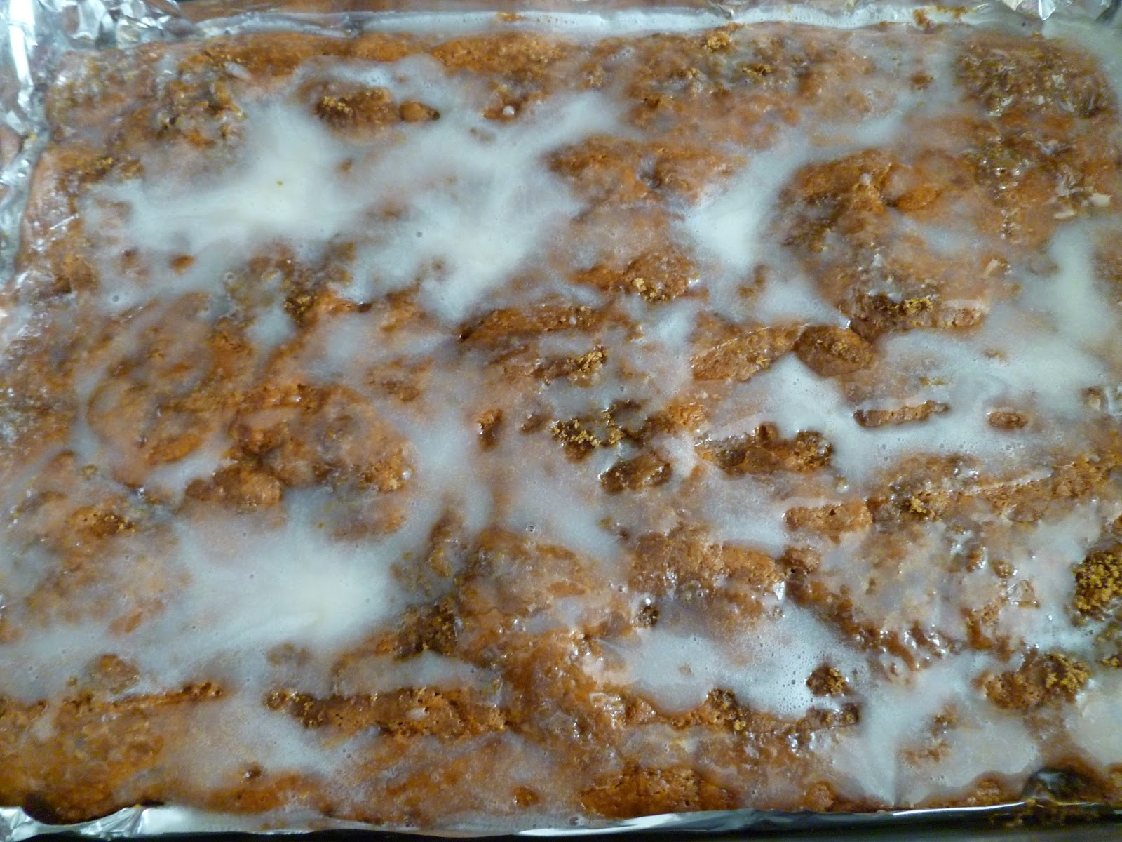 Apple Fritter Cake Nerdy Baker