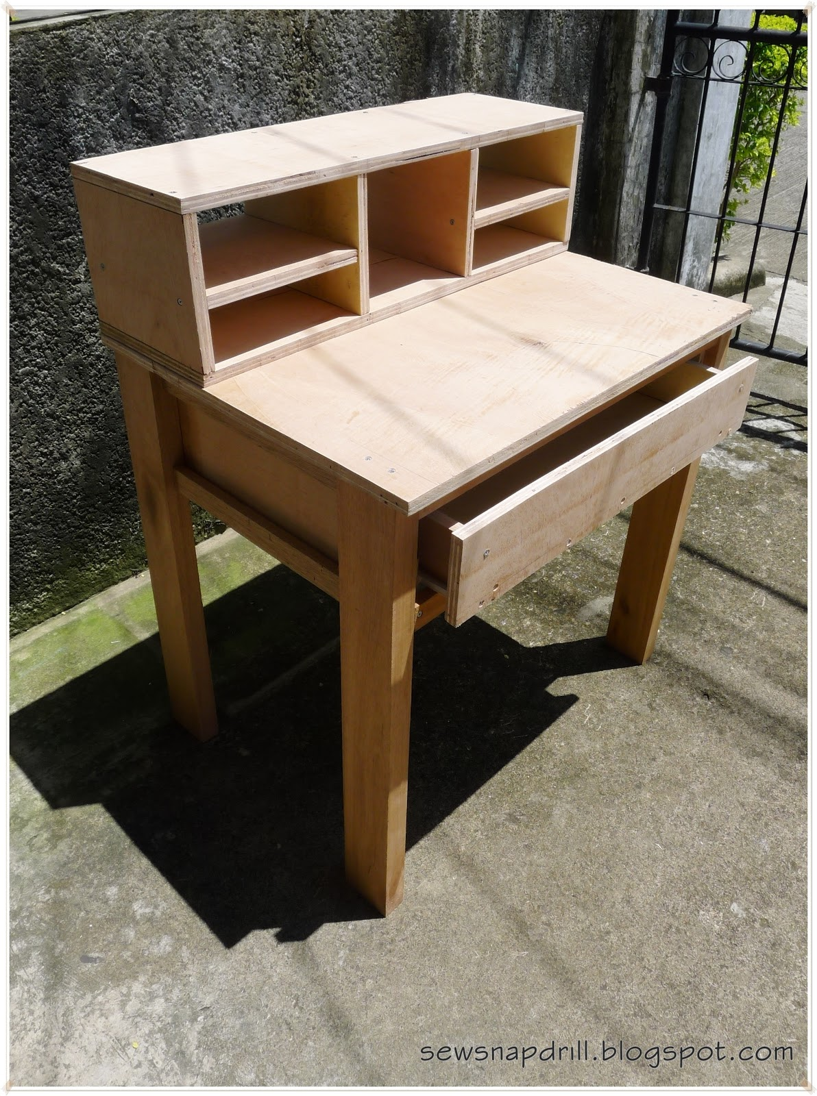 Plans For Building A Writing Desk