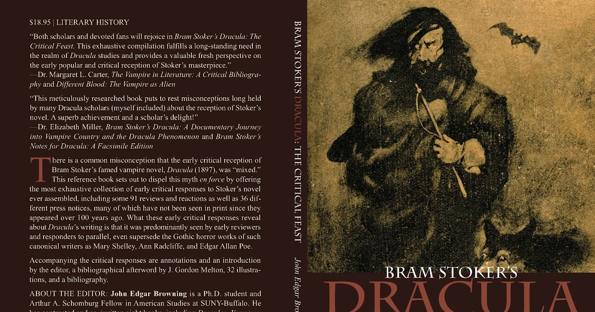 the reference of vampires in bram stokers novel dracula Bram stoker books: how 'dracula' created the modern today honors the author bram stoker, and his most famous book, 'dracula' of the modern vampire.