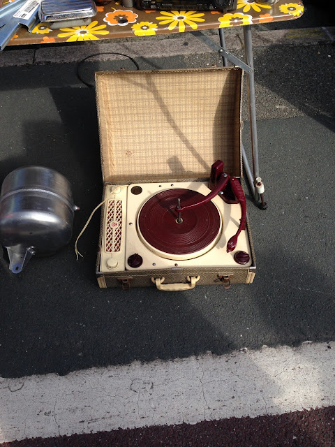 Vintage record player, Brighton Breeze