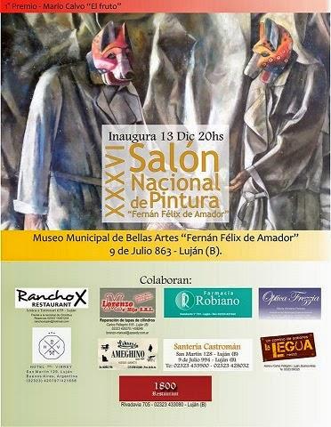 Primer Premio Adquisición Salón Nacional XXXVI Fernán Félix de Amador