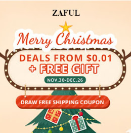 Zaful promotion christamas