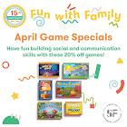 April Game Specials!