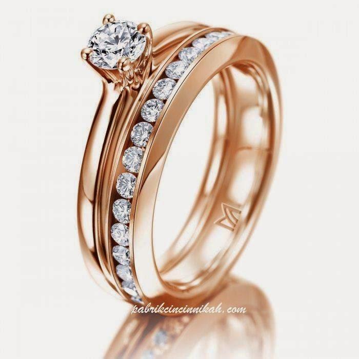 model cincin tunangan