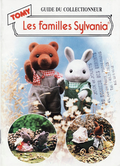 LES FAMILLES SYLVANIA GUIDE DU COLLECTIONNEUR - TOMY Sylvania001