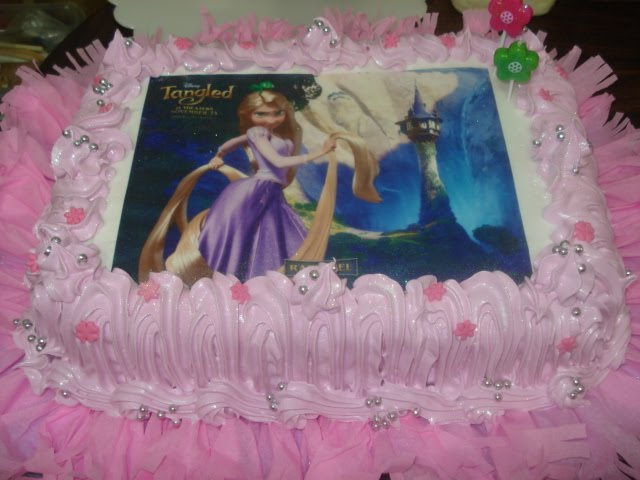 Decoración de tortas infantiles rapunzel - Imagui