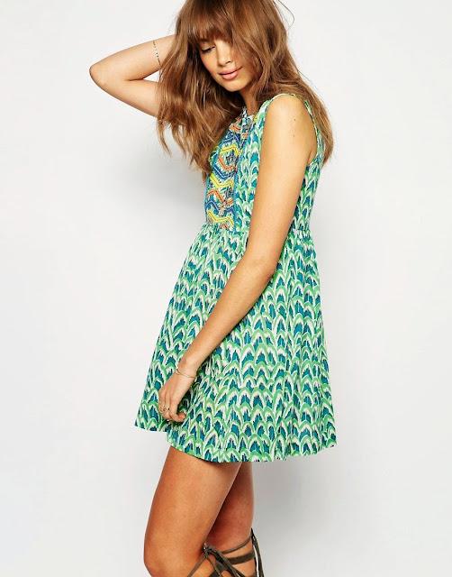 green feather dress, christophe sauvat dress,