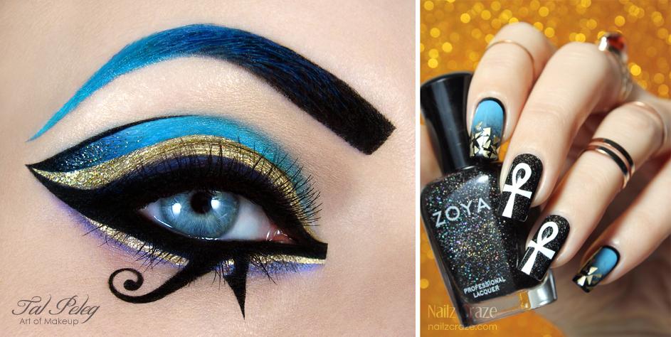 katy perry dark horse inspired makeup amp nail art nailz craze