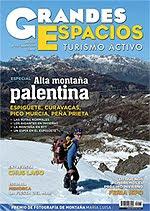 ESPECIAL MONTAÑA PALENTINA EN LA REVISTA GRANDES ESPACIOS DE MARZO 2012