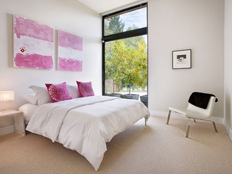 10 dormitorios donde la cama no es la protagonista ideas - Dormitorios sin cabecero ...