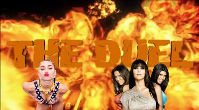 Miley Cyrus vs The Kardashians