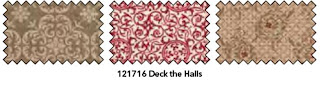 Stampin' Up! Deck The Halls Fabric
