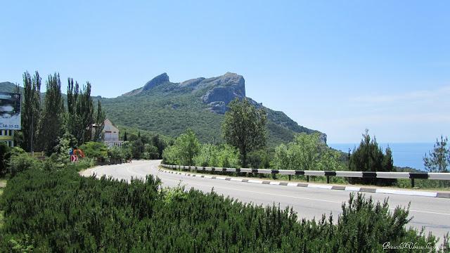 г. Деликли-Бурун. Ласпинский перевал