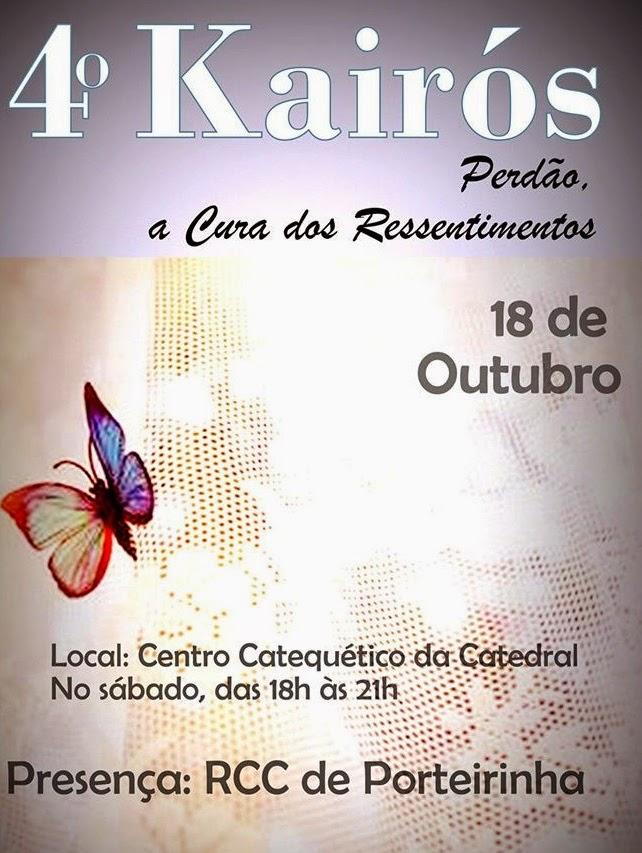 IV KAIRÓS, NO CENTRO CATEQUÉTICO DA CATEDRAL DE JANAÚBA