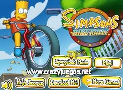 Jugar Simpsons Bike Rally