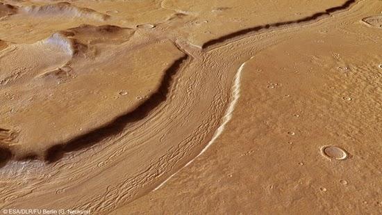 Ketika Planet Mars Masih Biru