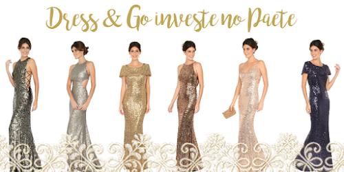 A volta do paetê: Dress & Go investe na tendência