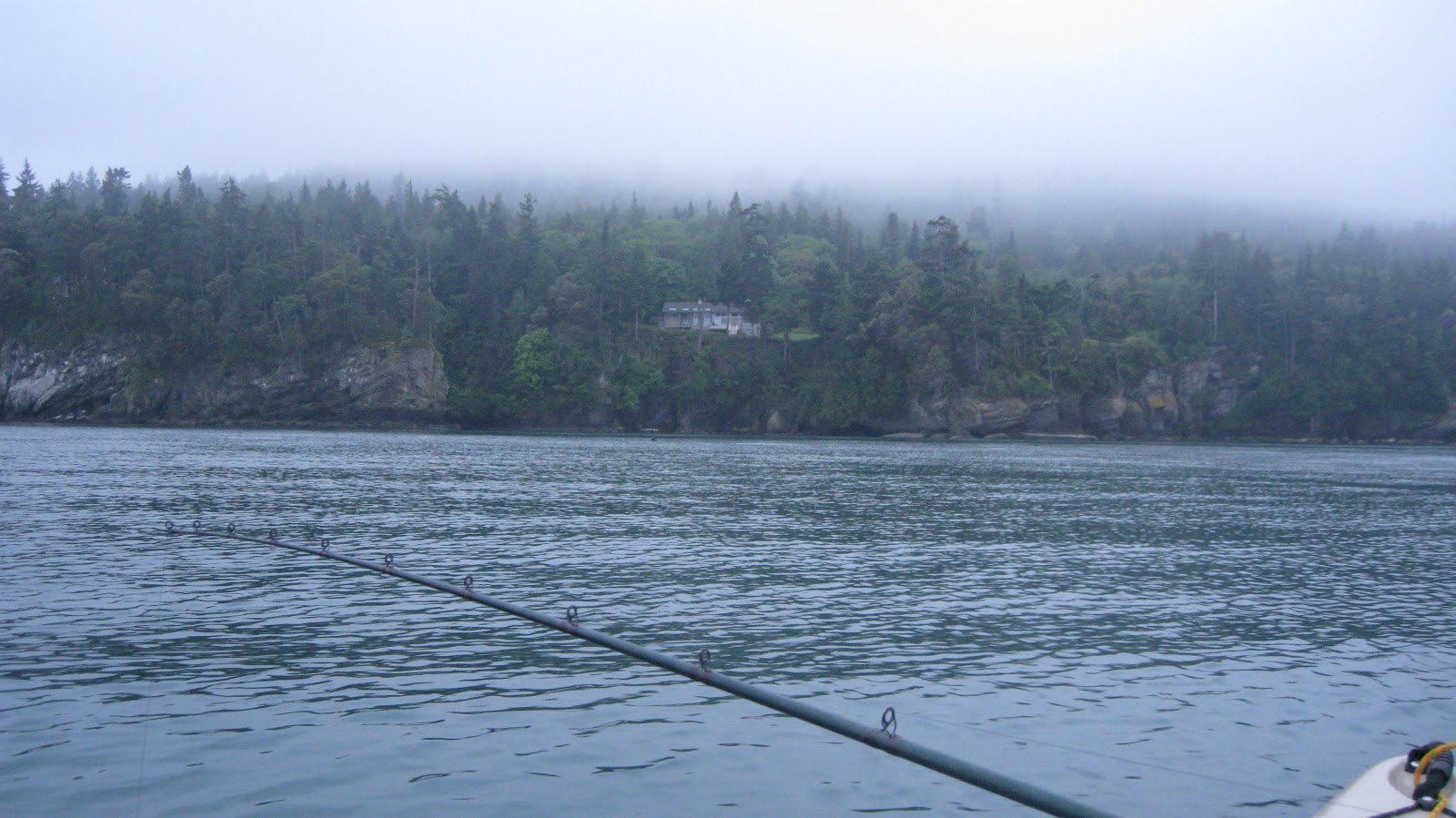 Kayak fishing halibut port angeles the pursuit for Port washington fishing