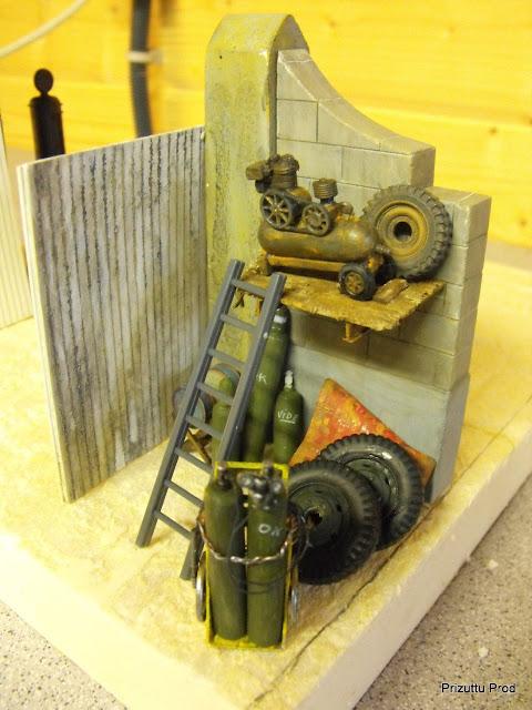 Morris breakdown:le décor. DSCF2887