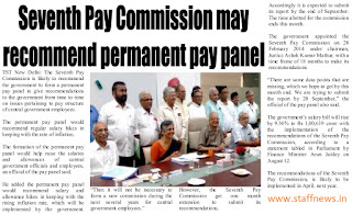 7th+cpc+may+recommend+permanent+pay+panel