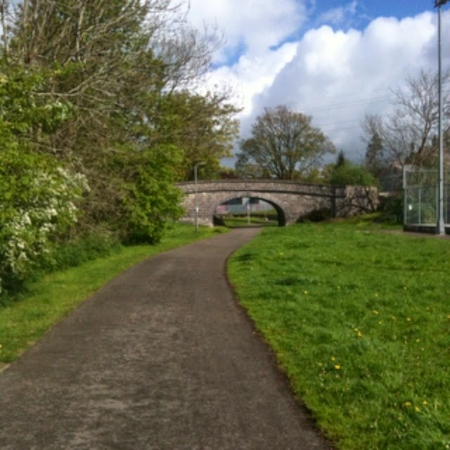 One of the old canal bridges, Kendal