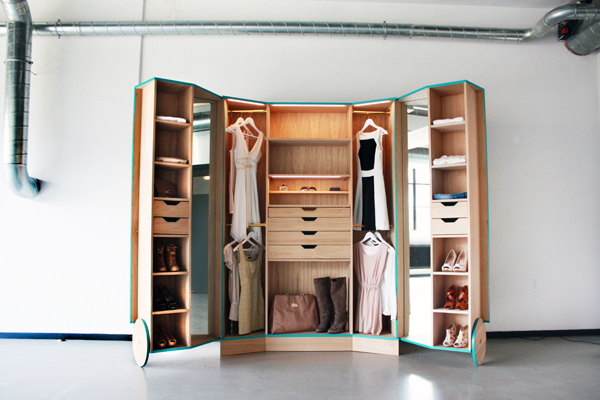 Alternative Walk In Wardrobe