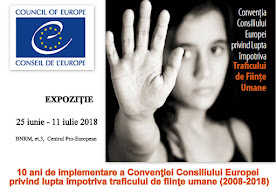 10 ani de implementare a Convenției CoE privind lupta împotriva traficului de ființe umane