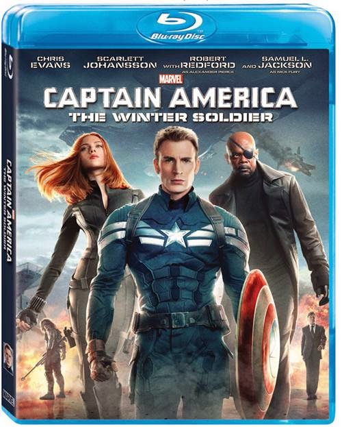 CAPTAIN AMERICA THE WINTER SOLDIER gets a blu-ray release date