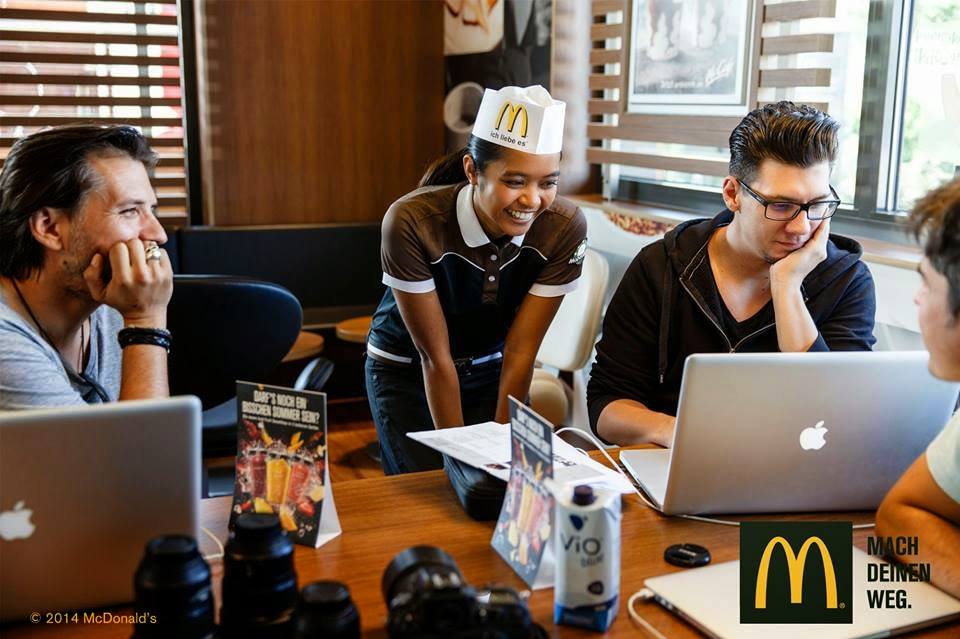 working at mcdonalds essay If you are wanting to know what it's like to work at mcdonald's canada look no further and become a part of this fast paced, rewarding environment.