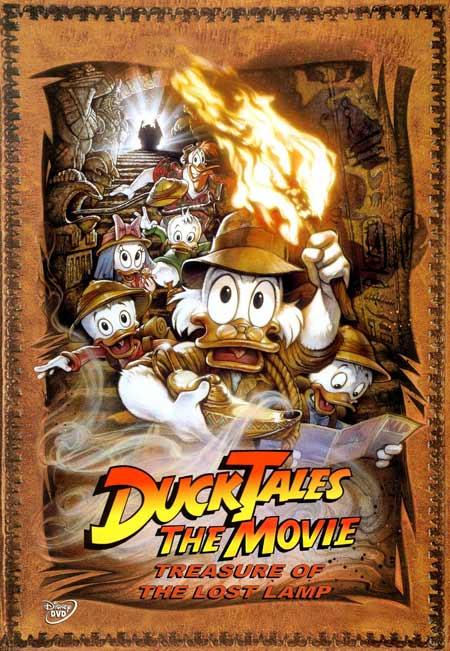 DuckTales the Movie Treasure of the Lost Lamp 1990 Dual Audio HDRip 480p 250mb